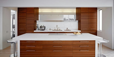 Mirror door kitchens mitchell act
