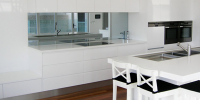 mirror kitchen design canberra