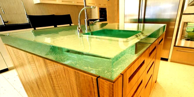 glass benchtops canberra