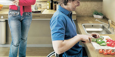 wheelchair-user-kitchens canberra
