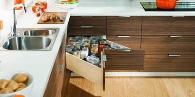 Kitchen Corner Drawers Design Canberra