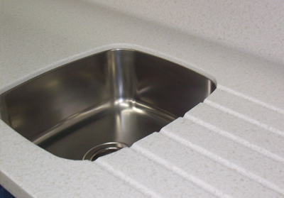 solid-surface-corian sink